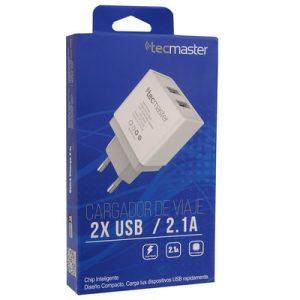 Cargador pared TECMASTER TM-CH-WU2