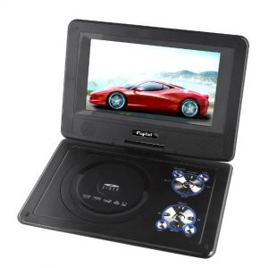 "DVD Portátil 9"" Auto + TV Análoga Fujitel"