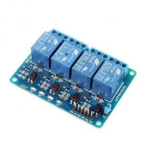 Modulo Relay de 4 Canales Optoacoplados Arduino