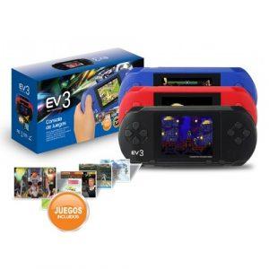 Consola Portatil de Juegos Retro EV3 + 167 JUEGOS
