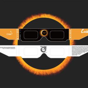 Gafas Eclipse Solar 2019
