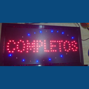 Letrero Led Completos