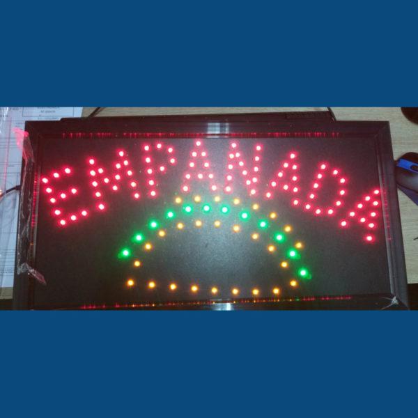 Letrero Led Empanada