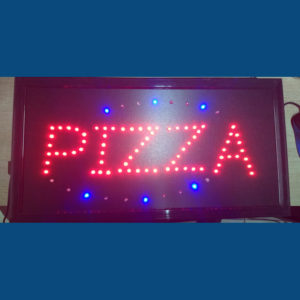 Letrero Led Pizza