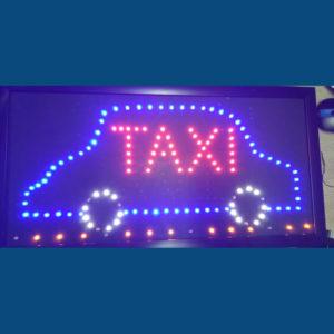 Letrero led Taxi