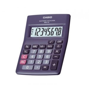 Calculadora simple CASIO MW-5V