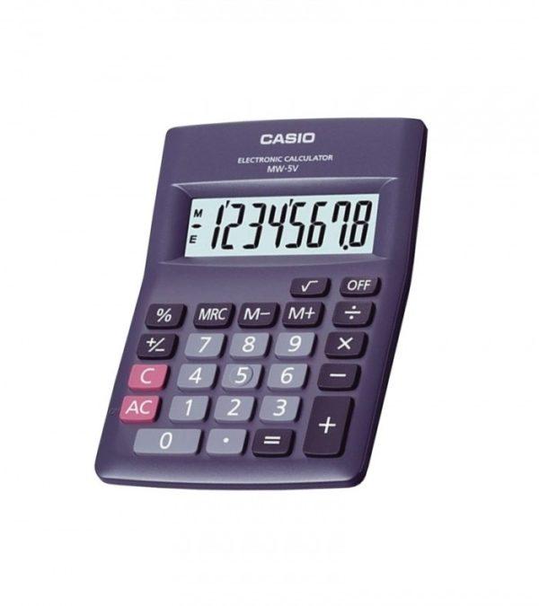 Calculadora simple CASIO MW-5V