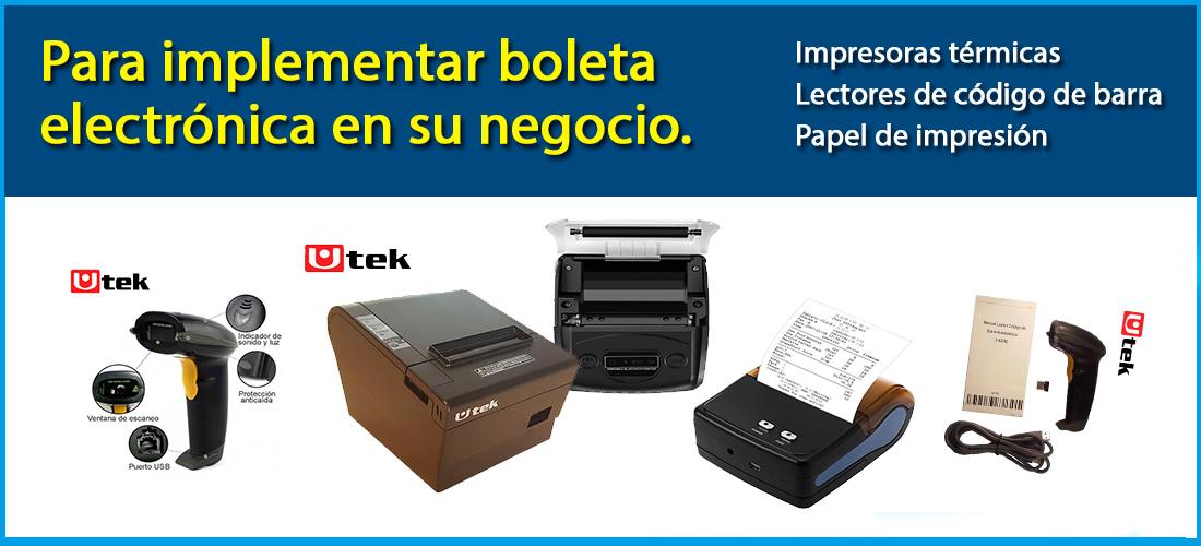 impresoras termicas para boleta electronica